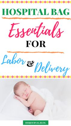 Hospital Bag Essentials for Labor and Delivery - Pregnancy Questions, Pregnancy Stages, Parenting Quotes, Parenting Advice, Hospital Bag Essentials, Other Mothers, Everything Baby, Mom Blogs, New Moms