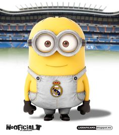 soccer real madrid minions