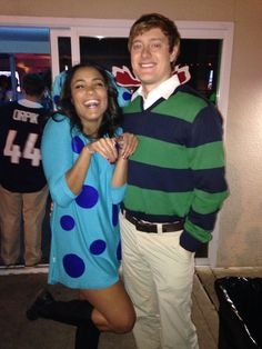 Couple costume, homemade and easy! Blues clues and Steve