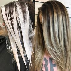 """2,265 curtidas, 45 comentários - South Florida Balayage (@simplicitysalon) no Instagram: """"Hair painting placement I used @jackwinncolor clay lightener with 40vol and @uberliss bond…"""""""