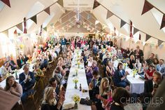 Village Hall Wedding - by Chris Giles Photography