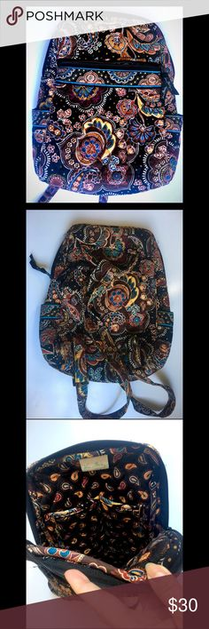 Vera Bradley Medium Backpack OBO EUC. Comment with questions 😊💗 Vera Bradley Bags