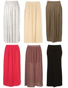 Indigo: Maxi Skirts