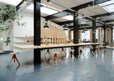 Paris-based ARRO Studio has transformed a 19th-century warehouse into the design…