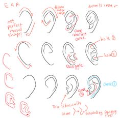 kelpls:  UMM PEOPLE ASKED ABOUT NOSES AND EARS SO YEAH!!  please look up real references too don't just look at THESE CAUSE REAL REFS ARE THE BEST I HOpe this helps somewhat i wan't sure waht to cover SOBS
