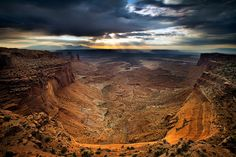 Jacob's Ladder in Canyonlands in Utah , photo by Tony Dadson via Flickr.