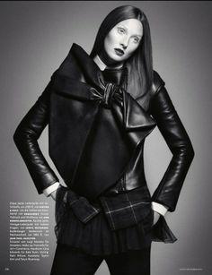 Vogue Germany December 2013   Maggie Rizer by Daniele+Iango
