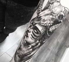 The Witch tattoo by Fredao Oliveira                              …