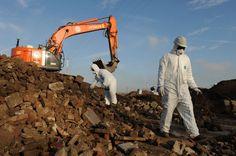 Réhabilitation du site Jacbois à Seraing #spaque #decharge #remediation #landfills #rehabilitation