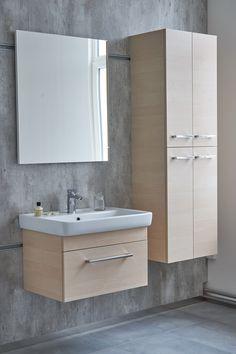 Inspirace pro vaši stylovou koupelnu - Zařiďte si koupelnový interiér v dekoru dřeva s kvalitním českým nábytkem Dřevojas