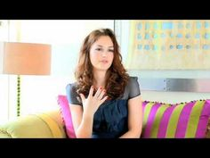 Hair tips from Leighton Meester.