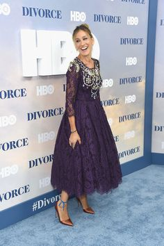 """Sarah Jessica Parker Photos Photos - Sarah Jessica Parker attends the """"Divorce"""" New York Premiere at SVA Theater on October 4, 2016 in New York City. - """"Divorce"""" New York Premiere"""
