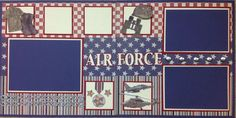 Air Force | Scrapbooking | Pinterest
