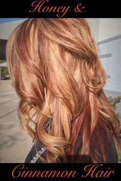 Absolutely love how this color turned out!!! This honey and cinnamon color is just perfect for fall!!