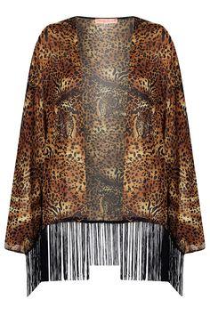 f13f839fe6d7a4  topshop leopard print kimono Cheetah