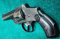 Smith & Wesson 4th MODEL D/A. TOP-BREAK GRIP SAFETY - BORE .38 S&W