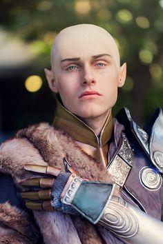Solas (Dragon Age: Inquisition) Cosplayer: Aicosu