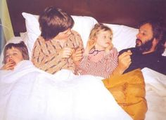adorable shot of Ringo and his kids