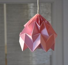 origami lampshades...great for a nursery or house warming gift. $78 ...or start practicing now!