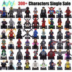 Single Sale Minifigures Sale Marvel Super Hero Avengers Iron Man Batman Deadpool Building Blocks Compatible With Legoe Building Toys, X Men, Birthday Wishes, Iron Man, Deadpool, Pop Culture, Avengers, Lego, Batman
