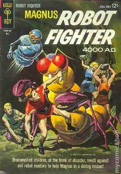 Magnus Robot Fighter (1963 Gold Key) 6
