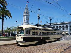 A Historic Streetcar, San Francisco,CA.