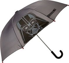 Amazon.com: Western Chief Toddler Boys Staw Wars Darth Vader Umbrella, Charcoal, One Size: Clothing