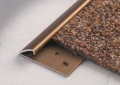 Carpetec MD - Terminal edge self adjusting carpet profiles - For carpet and vinyl floors - Floor profiles - Profilitec s.p.a.