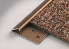 Carpetec MD - Terminal edge self adjusting carpet profiles - For carpet and vinyl floors - Floor profiles - Profilitec s.p.a.