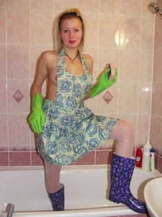 Pvc Apron, Gloves, Summer Dresses, Maids, Housewife, Boots, Latex, Kitchen, Fashion