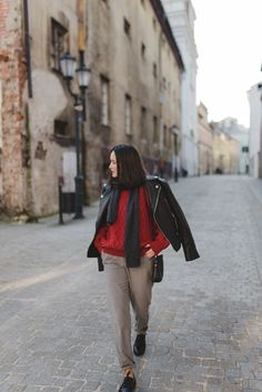 Cajmel: OOTD: RED WOOL