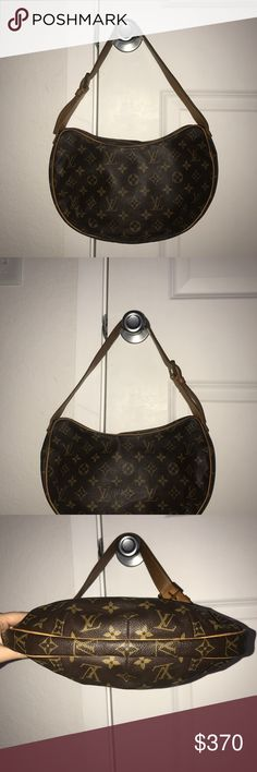 Louis Vuitton handbag Beautiful louis vuitton  is in good condition the piping around bag is good no tearing or scuffs the gold hard ware has discoloration and the straps have darkend from use of wear but over all in really good condition comes with dust bag Louis Vuitton Bags
