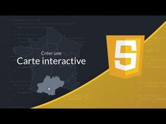 Tutoriel Javascript : Carte interactive en SVG - YouTube