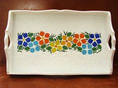 Mosaic Tray, Mosaic Tile Art, Mosaic Artwork, Mosaic Glass, Mosaic Art Projects, Mosaic Crafts, Stained Glass Projects, Mosaic Designs, Mosaic Patterns