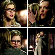 Arrow - Felicity & Laurel #3.20 #Season3
