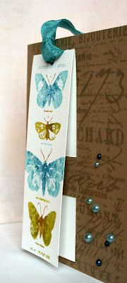 Two in one, card & bookmark