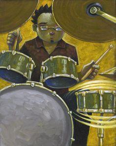 The Drummer by jasinski.deviantart.com on @deviantART