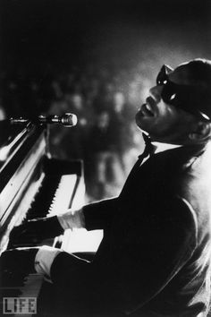 """Ray Charles, the star Frank Sinatra called ""the only true genius in the business"" — Ray Charles: Genius in Action"""" 