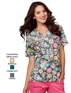 Uniform Advantage offers a vast assortment of medical scrubs and uniforms that are comparable to both Lydia's & Tafford uniforms. Cute Scrubs Uniform, Scrubs Outfit, Disney Scrubs, Halloween Scrubs, Pajama Day, Uniform Advantage, Medical Scrubs, Nursing Scrubs, Peeling
