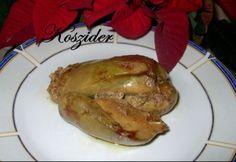 Libamáj zsidó módon Bagel, Poultry, Food And Drink, Pork, Turkey, Meals, Chicken, Cooking, Cook Books