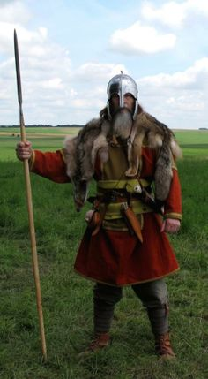 West Saxon warrior, 7th century