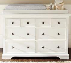 Larkin Extra Wide Dresser & Topper Set