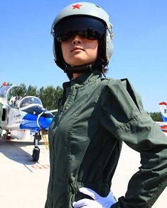 PLA's female pilot PLAs female fighter pilots operated fighters to conduct strike drill in mid-February of 2012. by militarytopics