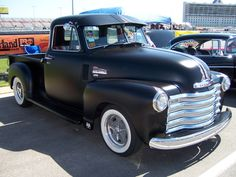 1952 Chevy Truck at show