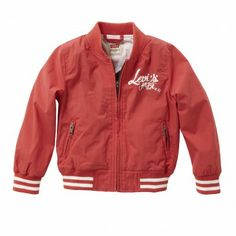 Chaqueta Austen Roja para Niño | Levi's | Offemily #kids #fashion #kidswear
