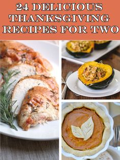 24 Perfect Thanksgiving Recipes For Two