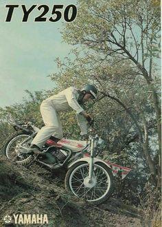 Vintage trials bike love!!