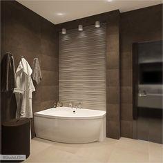 Bathroom Renos, Bathroom Interior, Bathroom Inspiration, Interior Design Inspiration, Beautiful Bathrooms, Bathtub, House Design, Home Decor, Washroom