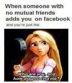 Facebook Meme #Friends, #Someone