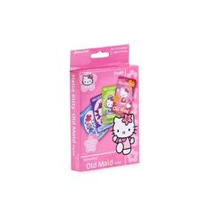 Pressman Toys - Hello Kitty Go Fish Card Game by Sanrio Lol, Hello Kitty Games, Adult Party Games, Beautiful Soup, Going Fishing, Matching Games, Sanrio, Maid, Card Games